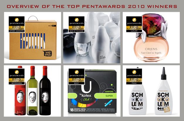 top winners pentawards